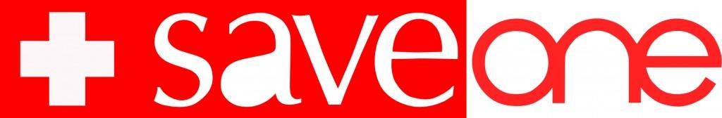 Logo_SaveOne CH richig rot